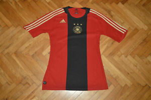 Germany football soccer home 2008-2010 adidas jersey shirt men M women L