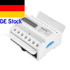 XTM1250SA-U 3x230/400V 5(100)A  LCD Drehstromzähler geeicht für DIN Hutschiene
