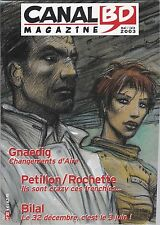 Canal BD Magazine - Gros plan Bilal - Mai / Juin 2003