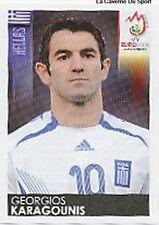 N°376 VIGNETTE PANINI KARAGOUNIS GREECE EURO 2008  STICKER