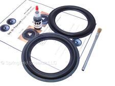 "2 Butyl Rubber 6.5"" Speaker Surround Repair Kit - Woofer - 2BR65"