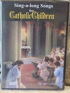 DVD Sing A Long Songs For Catholic Children