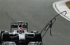 Kazuki Nakajima mano firmado AT&T Williams F1 Foto 7x5 14.
