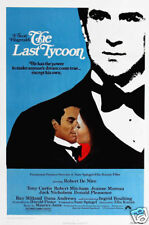 The last tycoon Robert de Niro vintage movie poster