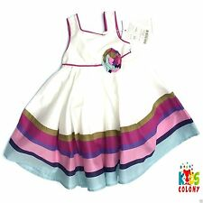 Monsoon Party 100% Cotton Dresses (0-24 Months) for Girls