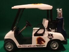 Brisbane Broncos Custom Golf Cart Buggy 1:24 Clubs Putter Ball Driver Iron Bag