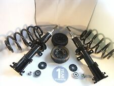 Renault Trafic Front LH RH Shock Absorbers + Top Strut Mounts + Coil Springs 01-
