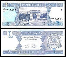 World Paper Money - Afghanistan 2 Afghanis 2002 P65 @ Crisp UNC