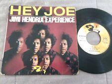 JIMI HENDRIX : Hey Joe +3 - Rare 7'' EP VINYL45T - BARCLAY BIEM - FRANCE 1967