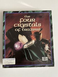 THE FOUR CRYSTALS OF TRAZERE*Vintage ROLE PLAYING GAME*Tested And Works*
