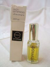 Vintage Avon Emprise Ultra Cologne .33 oz 90% full with Box
