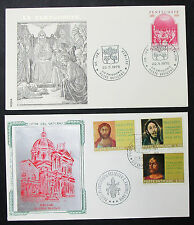 Vatikanstadt set of 2 Illustrated Covers Duomo Nuovo pentecoste vatican lettres h-8436