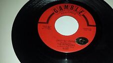"THE INTRUDERS Up And Down The Ladder / We'll Be United GAMBLE 201 45 7"" VINYL"