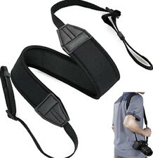 NECK STRAP BELT SHOULDER NEOPRENE COMPATIBILE CON PANASONIC LUMIX G1X GF3 G3 GH2