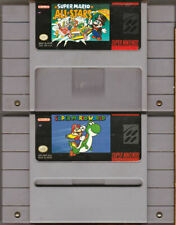Super Mario All-Stars and Super Mario World with Manuals - SNES Super Nintendo