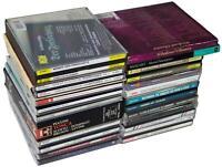 LOT Of 21 CLASSICAL CDs & CD SETS Mozart Beethoven Debussy Dvorak Puccini Mahler