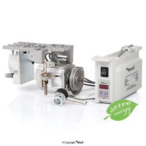TEXI Servo Motor POWER 750S AC + Positionsgeber für Juki,Pfaff,Brother,Adler usw