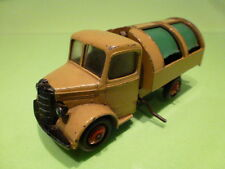 DINKY TOYS 252 TRUCK BEDFORD REFUSE WAGON - LIGHT BROWN 1:43 - GOOD CONDITION
