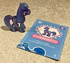 My Little Pony Royal Riff Crystal Mini Pony Figure w/Card Blind Bag #6 Wave 4