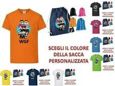 Maglietta Bambino Sacca TEAM WGF Lyon Youtuber vers.3 - WhenGamersFail - WGF
