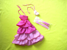 barbie vintage superstar pj sweet roses 1983 abito fiocco open toe pettini