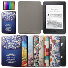 Para Amazon Kindle Paperwhite 1 2 3 4 2018 10th Smart Sleep/Wake Delgado Estuche Cubierta