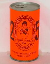 1997 Miss Old Frothingslosh Chapter Beer Can Lawrenceville, Pa Iron City Girl