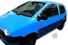 Renault Twingo 3 portes 2000-2007 Set of Front Vent Déflecteurs 2pc HEKO tinted