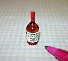 Miniature Single Liquor Bottle for The Dollhouse Bar 7 1 12 Scale Miniatures