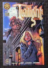2000 TWILIGHT GIRL #1 VG/FN 5.0 Signed by John Calvet / Cross Plains Comics