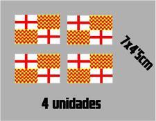 (1118)4 x bandera TABARNIA Barcelona catalonia catalana vinilo adhesivo pegatina