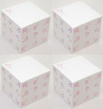 2400 Post It Brand Sheets Note Pad Monogram P White Sticky Notes 3x3 Square New