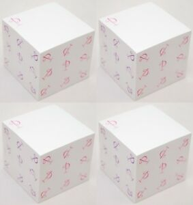 """2400 Post-It Brand SHEETS Note Pad Monogram-P White Sticky Notes 3x3"""" Square NEW"""