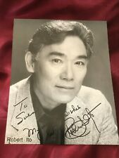 Autogramm ROBERT ITO-handsigned Großfoto-QUINY-Kanada/USA-Sam Fujiyama-Original