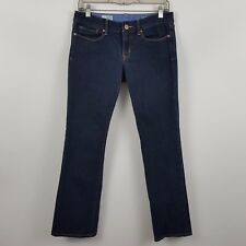 Gap 1969 Sexy Boot Cut Women's Dark Wash Blue Jeans Size 28/6r  Actual 30 x 29