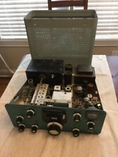 Vintage Heathkit SB-401 HF Transmitter Ham Radio Tubes Light up no power out