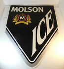 Vintage MOLSON ICE  Canadian Beer Sign