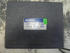 Amp Modular Plug Hand Tool Kit Pn 1 231666 1 Tyco Frame And Dies