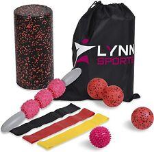 LYNN SPORTS High Density Exercise Foam Roller Set Kit