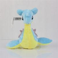 "Pokemon Center Lapras Plush Doll Collection Stuffed Animal Toy 8"" Gift US ship"