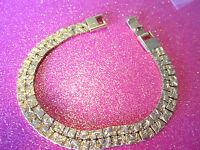 Gold Tone Bracelet 7 inches