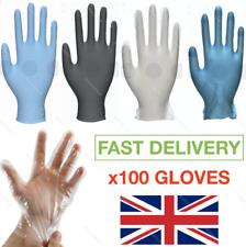 XSWY 20 desechable de silicona guantes Guantes de goma Guantes de l/átex hogar Guantes desechables de comida dej/ó de Limpieza y Derecho Universal Color : Negro, Talla : S