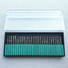 2.35mm Dental Frese Diamante Vari Dimensini Diamond burs Mini Trapano 30pcs/box