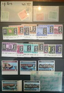 Amazing Guernsey Collection - NH stamps, stationery, presentation folders, FDCs