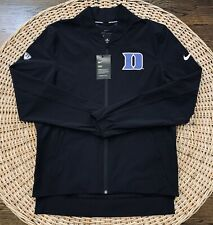 Nike Elite Men's Duke Blue Devils Showtime Dri-Fit Full-Zip Jacket Size Medium