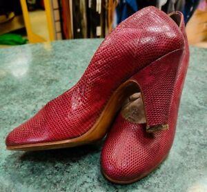 Decolleté scarpe donna anni '50 Valentina Roma made in Italy vero vintage shoes