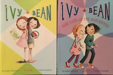IVY & BEAN Books  - Set of 2 Soft Cover Books - Barrows & Blackall