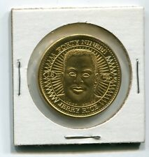 1997 Pinnacle Mint - JERRY RICE - Gold Plated Artist's Proof Coin - #d 32/100