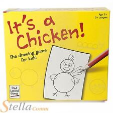 It's A Chicken Children's Art Drawing Picture Guessing Board Game