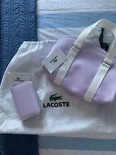 Lacoste Medium Boston Bag And Purse Set